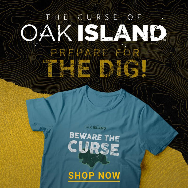The Curse of Oak Island Gifts