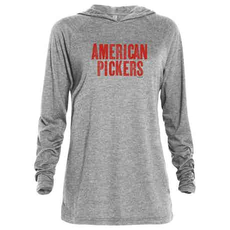 American Pickers Logo Tri-Blend Raglan Hoodie