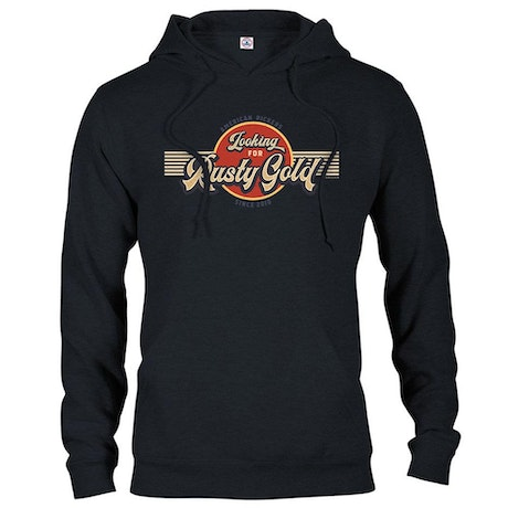 American Pickers Looking for Rusty Gold Circular Hooded Sweatshirt