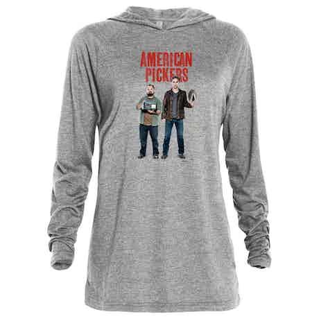 American Pickers Mike and Frank Tri-blend Raglan Hoodie