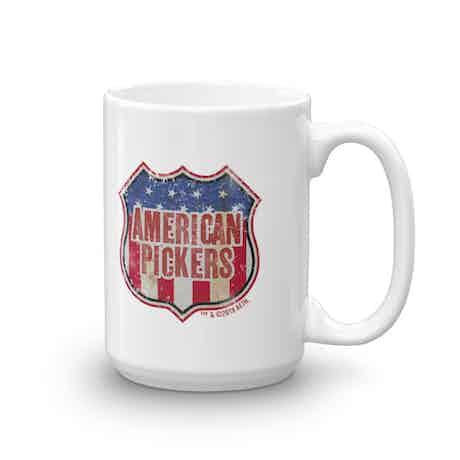 American Pickers Americana White Mug