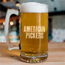 American Pickers 25 oz Beer Glass
