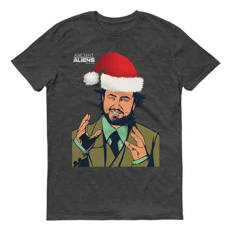 Ancient Aliens Giorgio Holiday Short Sleeve T-Shirt