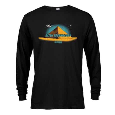 Ancient Aliens Alien Technology Long Sleeve T-Shirt