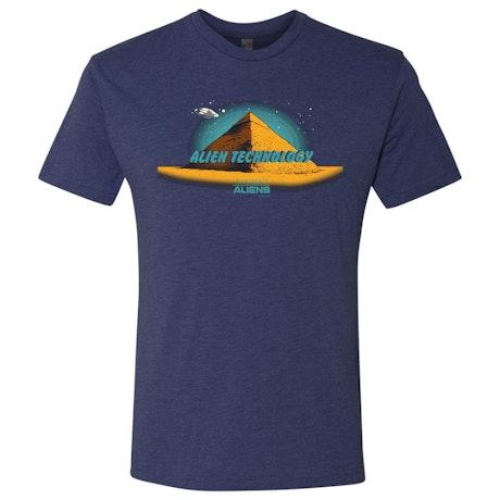 Ancient Aliens Alien Technology Men's Tri-Blend Short Sleeve T-Shirt