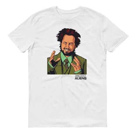 Ancient Aliens Giorgio Men's Short Sleeve T-Shirt
