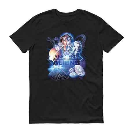 Ancient Aliens History of Man Men's Short Sleeve T-Shirt