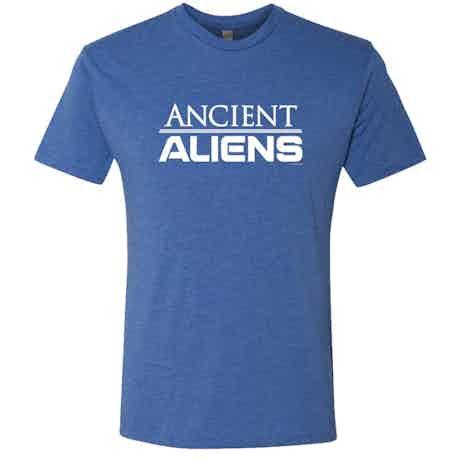 Ancient Aliens Logo Men's Tri-Blend Short Sleeve T-Shirt