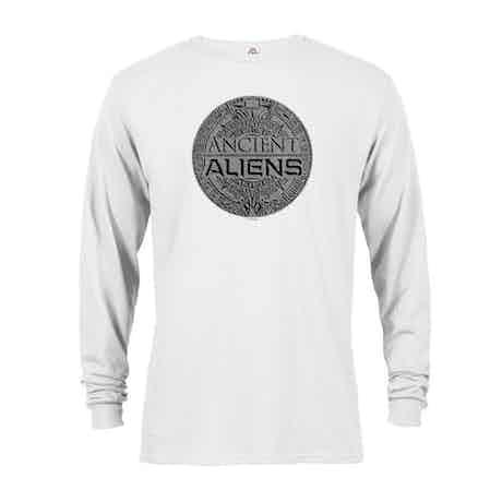 Ancient Aliens Symbol Logo Long Sleeve T-Shirt