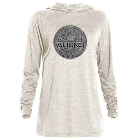 Ancient Aliens Symbol Logo Tri-Blend Raglan Hoodie