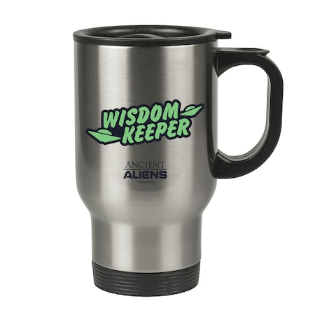 Ancient Aliens Wisdom Keeper Stainless Steel Travel Mug