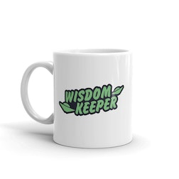 Ancient Aliens Wisdom Keeper White Mug