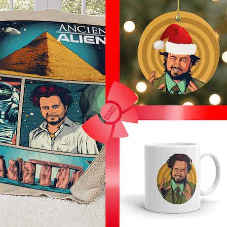Ancient Aliens Giorgio Gift Wrapped Bundle