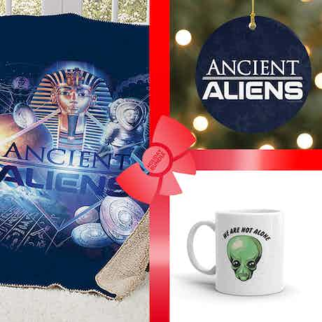 Ancient Aliens Ultimate Fan Gift Wrapped Bundle