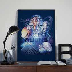 """Ancient Aliens History of Man Poster - 18"""" x 24"""""""