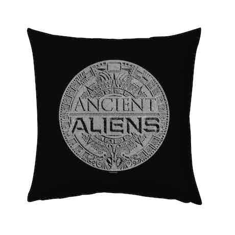 "Ancient Aliens Symbol Logo Pillow - 16"" x 16"""