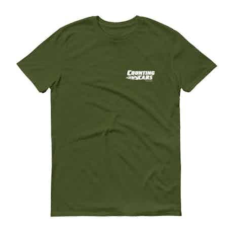 Counting Cars Logo Men's Short Sleeve T-Shirt