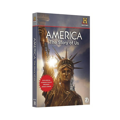 America: The Story of US DVD