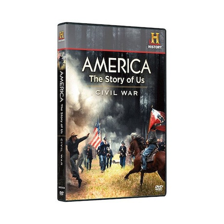America The Story Of Us Volume 3: Civil War DVD