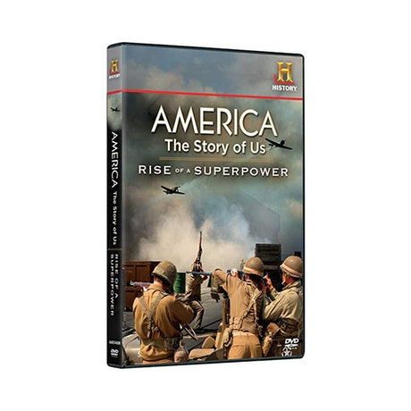 America: The Story of Us - Rise of a Superpower DVD
