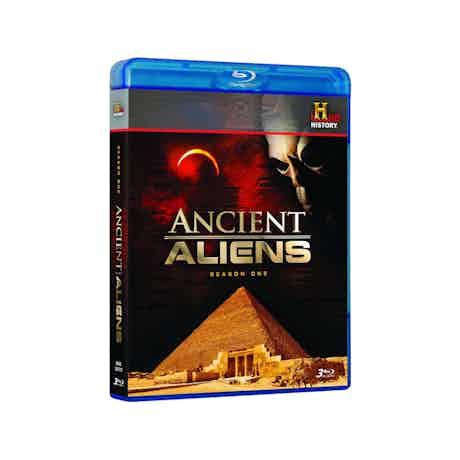 Ancient Aliens Season 1 - Blu-ray DVD