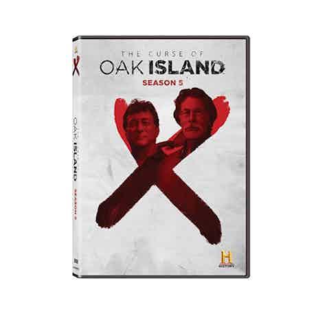 The Curse of Oak Island Season 5 DVD