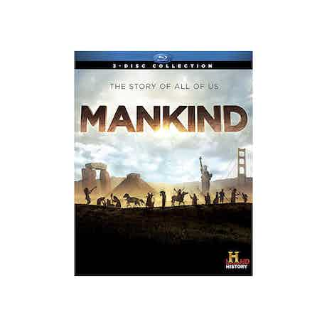 Mankind: The Story of All of Us - Blu-ray DVD
