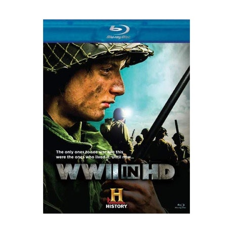 WWII in HD Blu-ray DVD