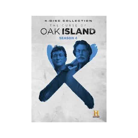 The Curse of Oak Island Season 4 DVD