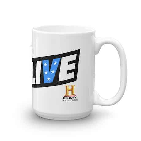 Evel Live White Mug