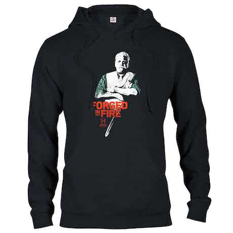 HISTORY Forged in Fire Series David Hooded Sweatshirt