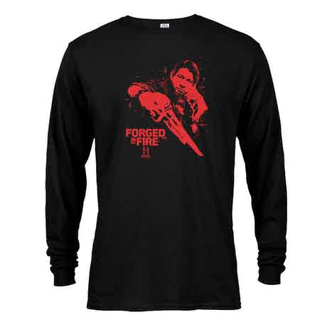 HISTORY Forged In Fire Series Doug Long Sleeve T-Shirt