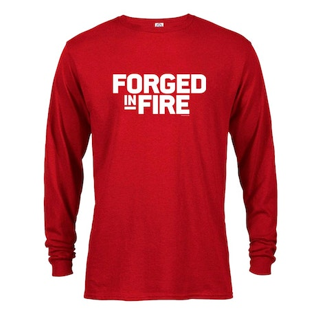 Forged in Fire Logo Long Sleeve T-Shirt