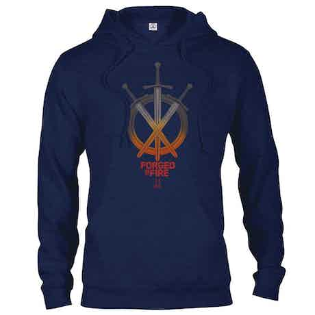 HISTORY Forged In Fire Series Swords Hooded Sweatshirt