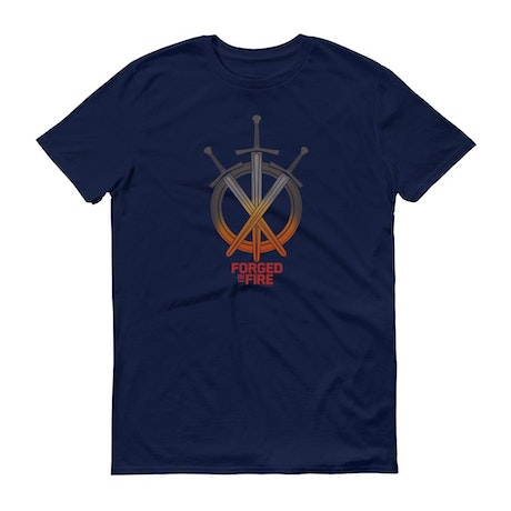Forged in Fire Swords Men's Short Sleeve T-Shirt