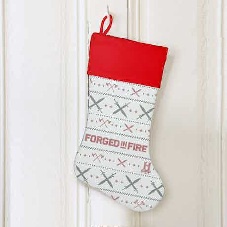 Forged in Fire Holiday Stocking