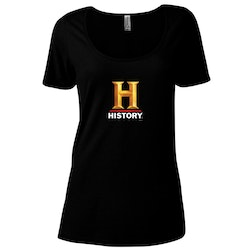HISTORY Logo Women's Relaxed Scoop Neck T-Shirt