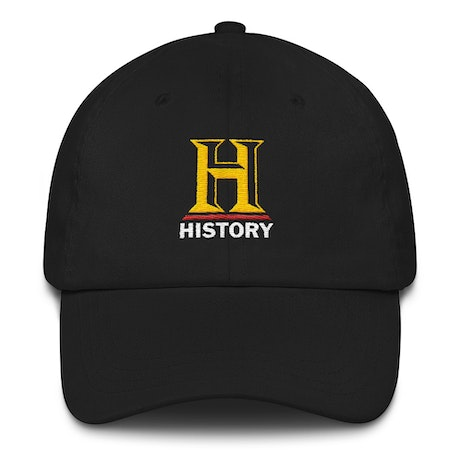 HISTORY Logo Embroidered Baseball Hat