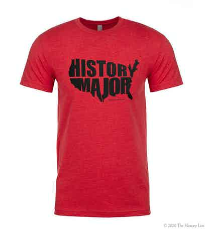 U.S History Major Short Sleeve T-Shirt