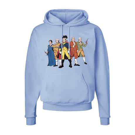 Revolutionary Superheroes Hooded Sweatshirt