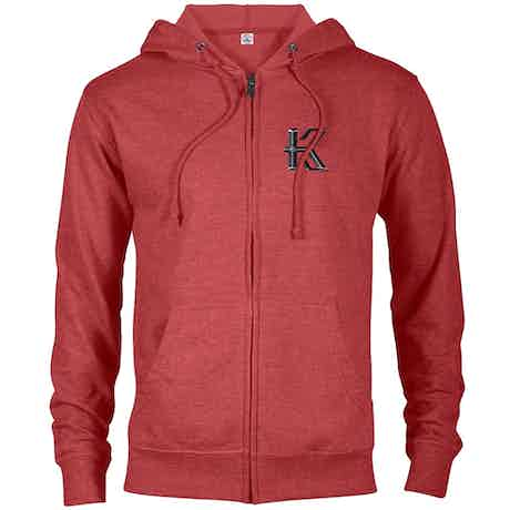 Knightfall Lightweight Zip Up Hooded Sweatshirt