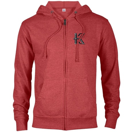 Knightfall Lightweight Zip Up Hooded Sweatshirt