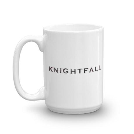 Knightfall White Mug