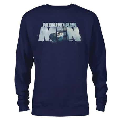 Mountain Men Tom Oar Logo Crew Neck Sweatshirt