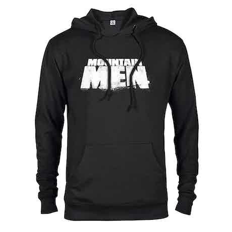 Mountain Men Logo Hooded Sweatshirt