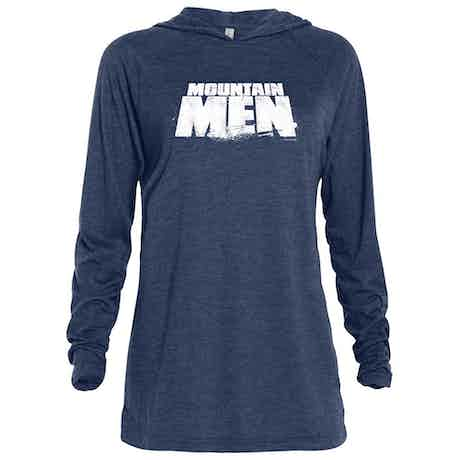 Mountain Men Logo Tri-blend Raglan Hoodie