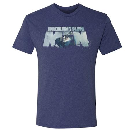 Mountain Men Tom Oar Logo Men's Tri-Blend Short Sleeve T-Shirt