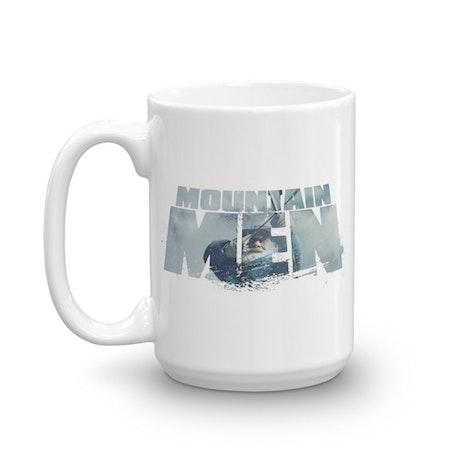 Mountain Men Tom Oar Logo White Mug