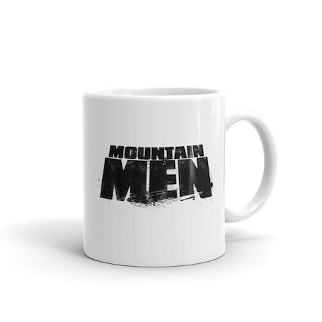 Mountain Men White Mug