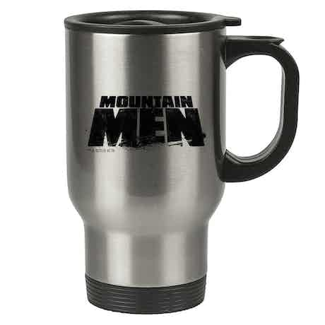 Mountain Men Stainless Steel Travel Mug